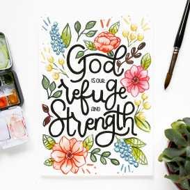 Refuge and Strength, Original Piece